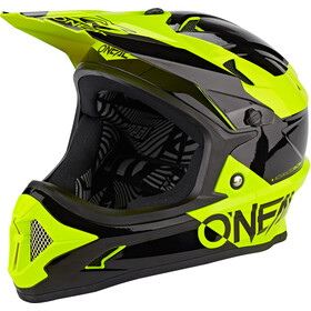 O'Neal Backflip Kask Bungarra, black/neon yellow